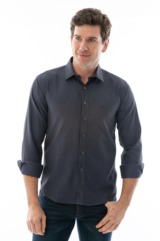 eb1e0f22e Camisa Social ML Diferenciada - lojafattoamano
