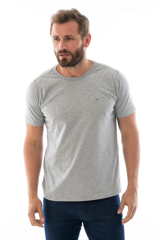 Camiseta Básica Masculina Gola Careca - lojafattoamano c486174767f