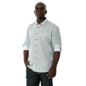 b6b150f67 ... Camisa-Manga-Longa-Casual-Com-Bolso-Estampada ...