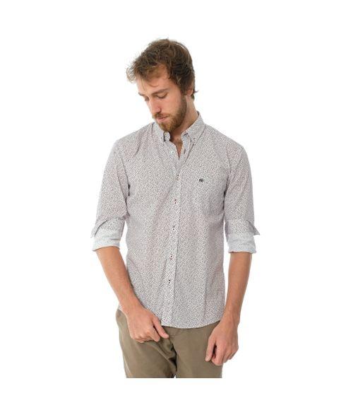 Camisa-Casual-Manga-Longa-Estampada-Com-Bolso