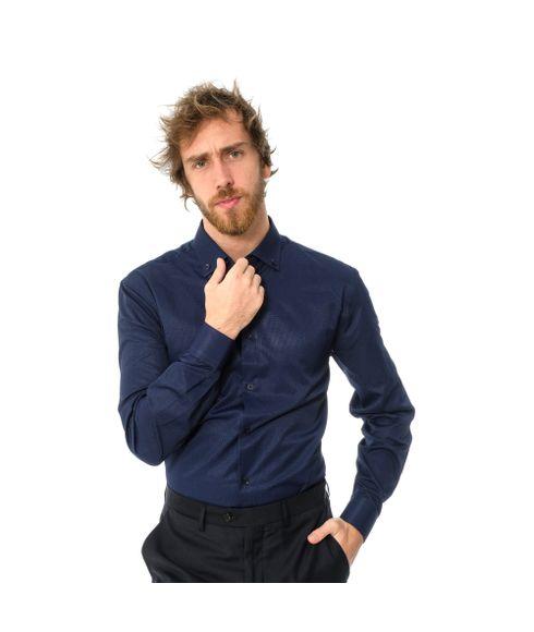 Camisa-Slim-Manga-Longa-Maquinetada