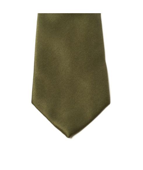 Gravata-lisa-tradicional-verde-musgo