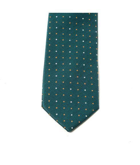 Gravata-Slim-Estampada-Verde