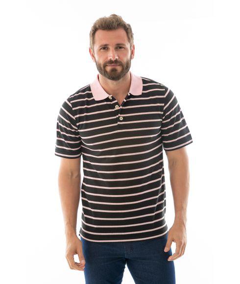 18a38c24d6 Camisa Polo Masculina  Manga Curta