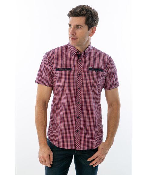Camisa-Casual-Xadrez-Manga-Curta