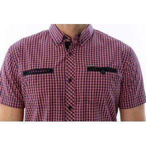 e2580587fd ... Camisa-Casual-Xadrez-Manga-Curta ...