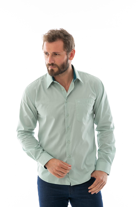e6b2f2247 Camisa Social Lisa ML - lojafattoamano