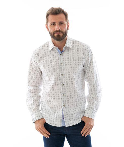 Camisa-Casual-Manga-Longa-Desenhada