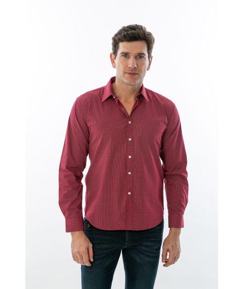 Camisa-Casual-Desenhada-Manga-Longa