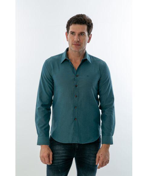 Camisa-Casual-Manga-Longa-Diferenciada-