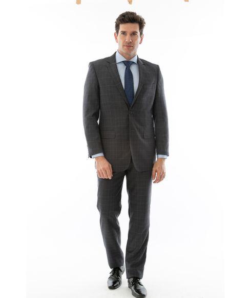 Costume-Poli-Viscose-2-botoes-Principe-de-Gales